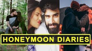 Gambar cover TV Actress Kratika Sengar Honeymoon Diaries With Husband Nikitin Dheer  || Real Life TV Couples