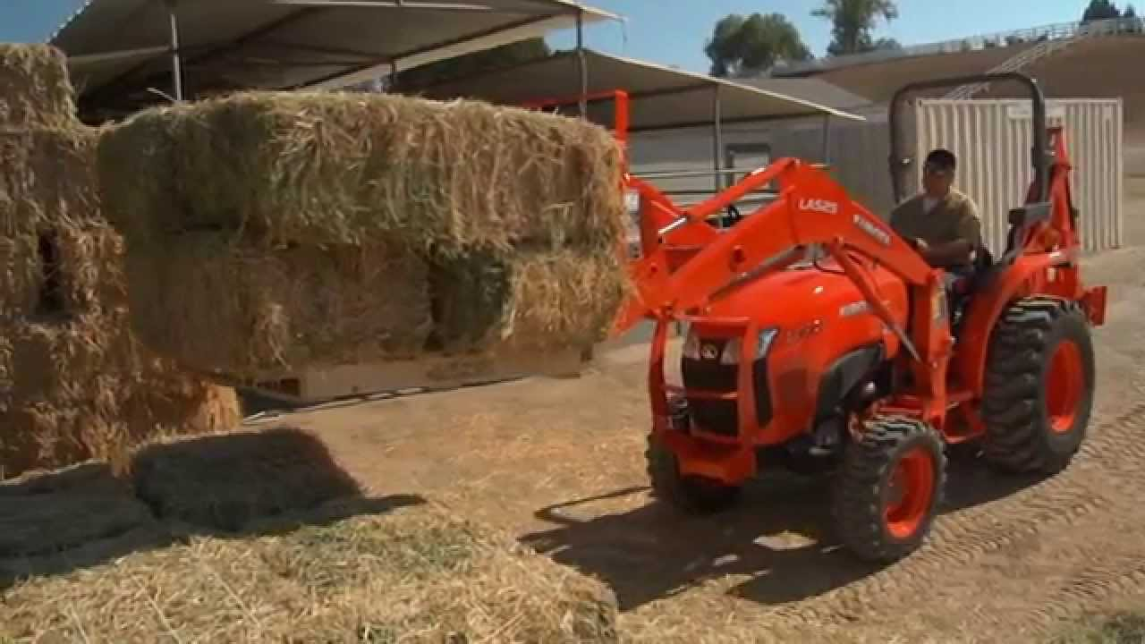 MB Tractor Kubota L3301 L3901 2015 Fall Commercial - YouTube