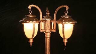 European style vintage garden light fixture for yard