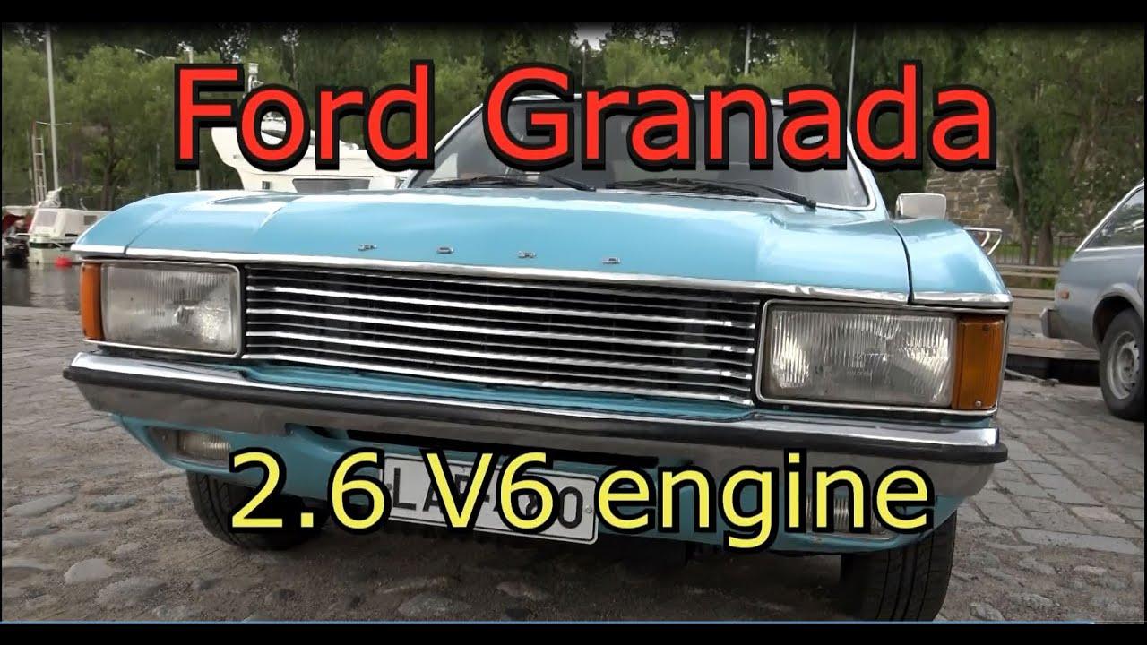 Ford Granada XL 2.6 V6 Engine