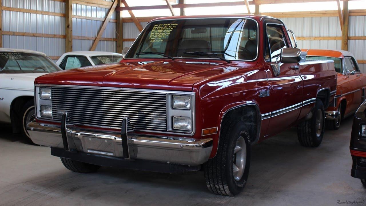 1986 GMC High Sierra Shortbed Pickup 454 Big-block V8