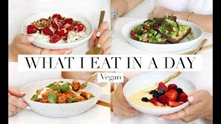 What I Eat in a Day #45 (Vegan/Plant-based) AD | JessBeautician