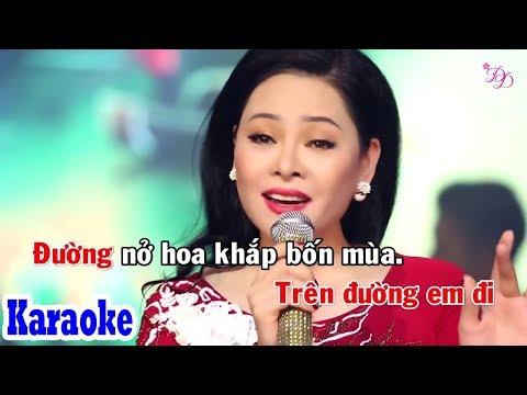 Gió Về Miền Xuôi (Karaoke Beat) - Tone Nữ | Đông Đào Karaoke