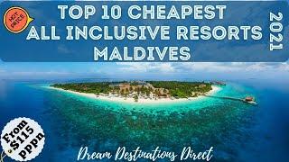 Top 10 Cheapest All  Nclusive Resorts Maldives 2021 Best Budget All  Nclusive Resorts Maldives