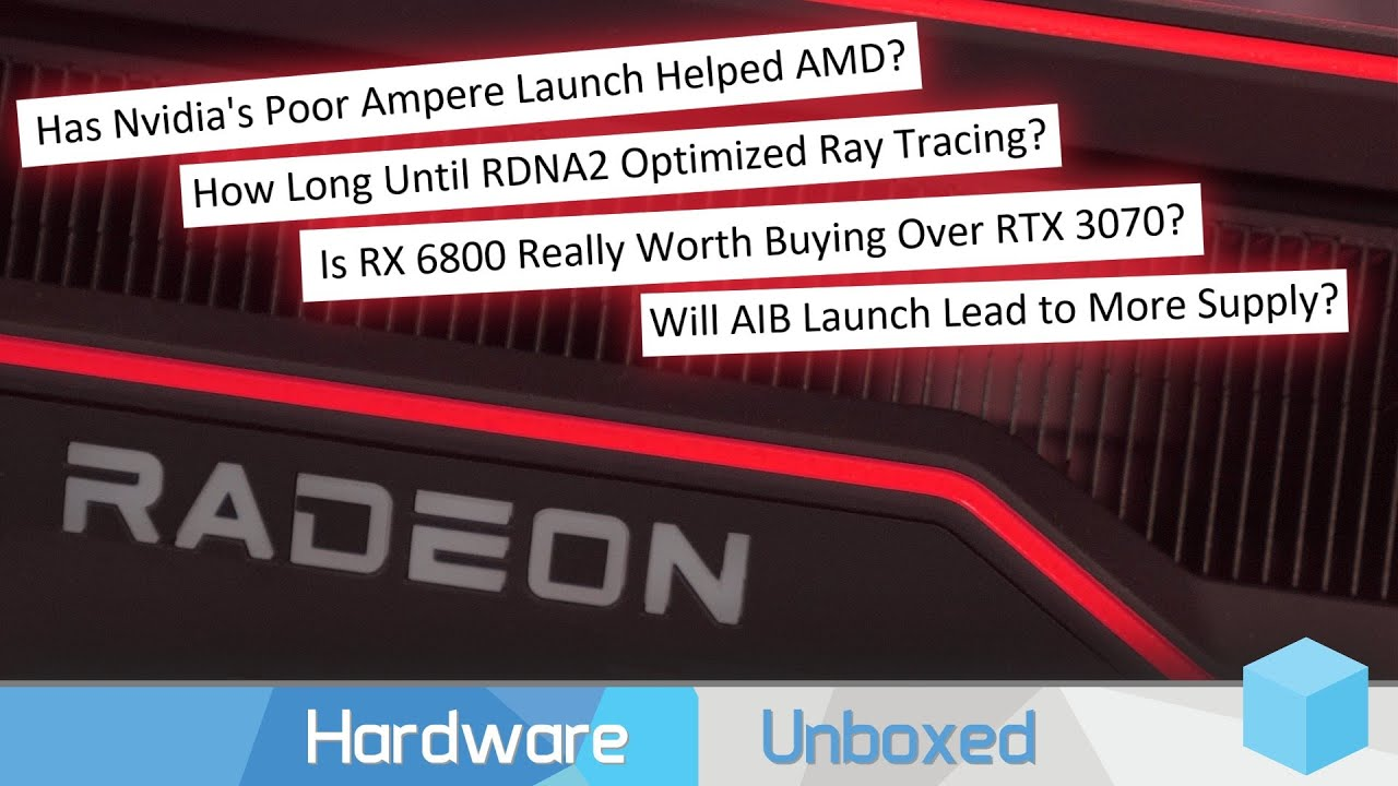 RTX 3070 vs RX 6800? Will RDNA2 Age Better Than Ampere? RX 6000 Q&A [Part 1]