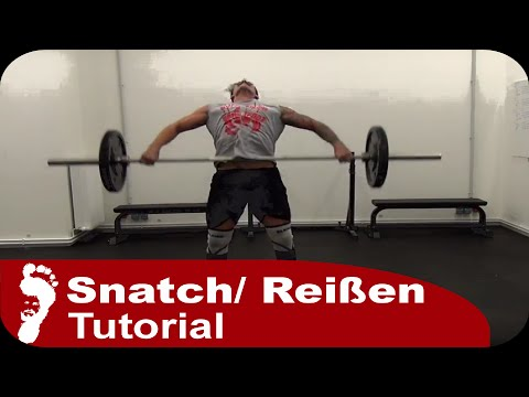 Snatch (Reißen) | Richtige Technik Step by Step (Tutorial)