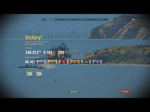 World of Warships - Cleveland - Trust me, Kraken