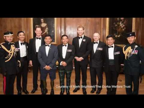 Prince Harry Celebrates The Gurkha Welfare Trusts Work