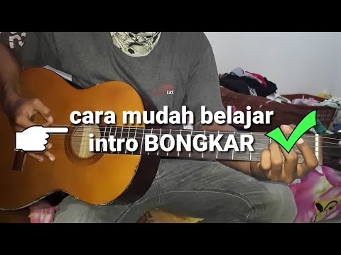 belajar gitar -  kunci gitar ( intro lagu iwan fals BONGKAR )