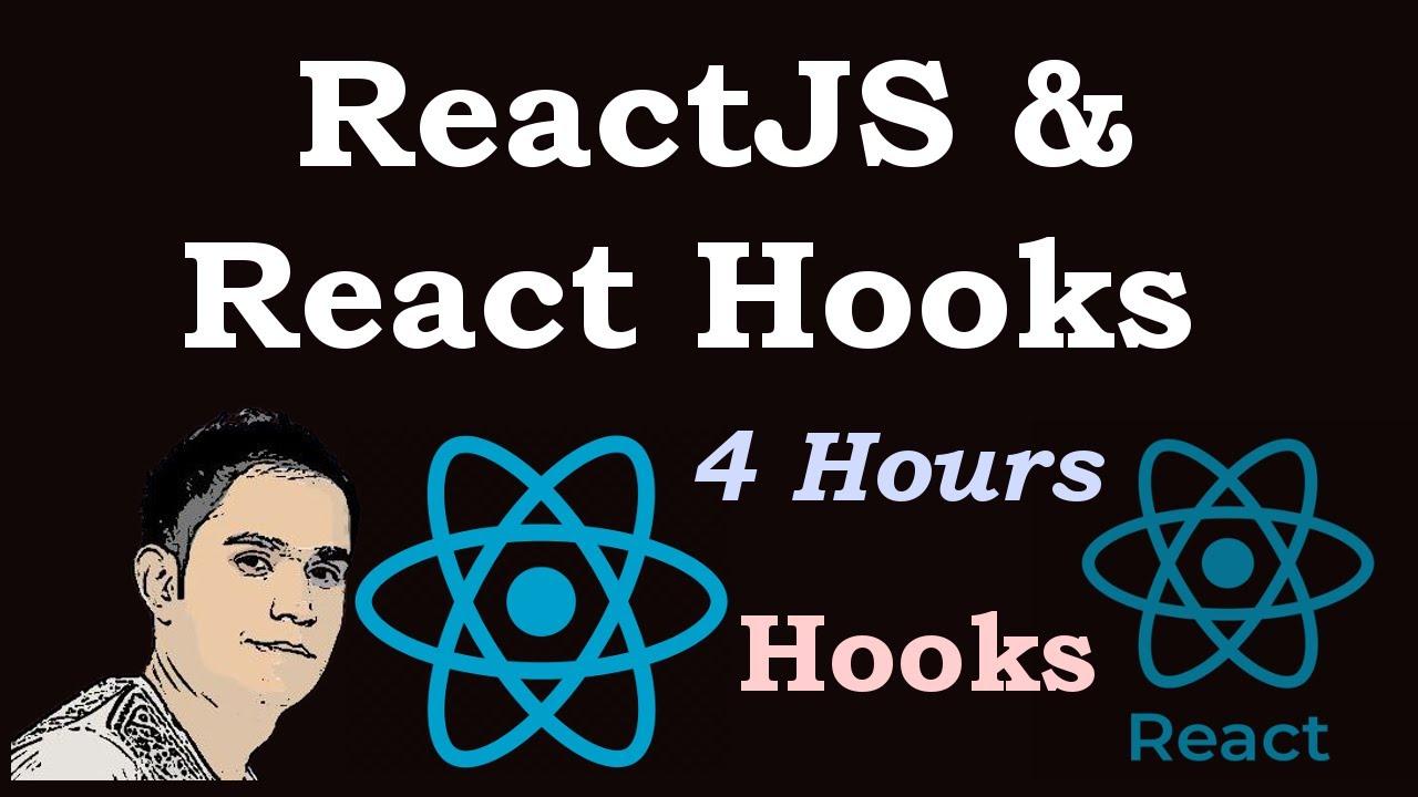 ReactJS & React Hooks Tutorial For Beginners