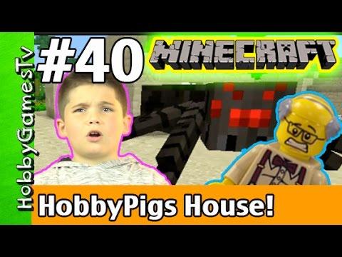 Minecraft Floyd #40 HobbyPigs House! Xbox 360 Gameplay Hobbykids by HobbyGamesTV HD