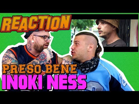 Inoki Ness - Preso Bene (Prod. Bonnot) | RAP REACTION 2017 | ARCADEBOYZ