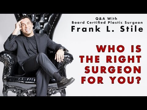 Who Is The Right Surgeon For You?
