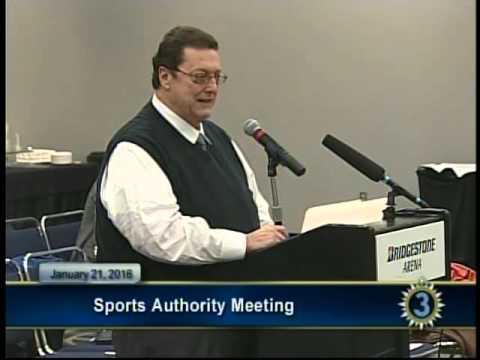 01/ 21/ 2016 Sports Authority Meeting