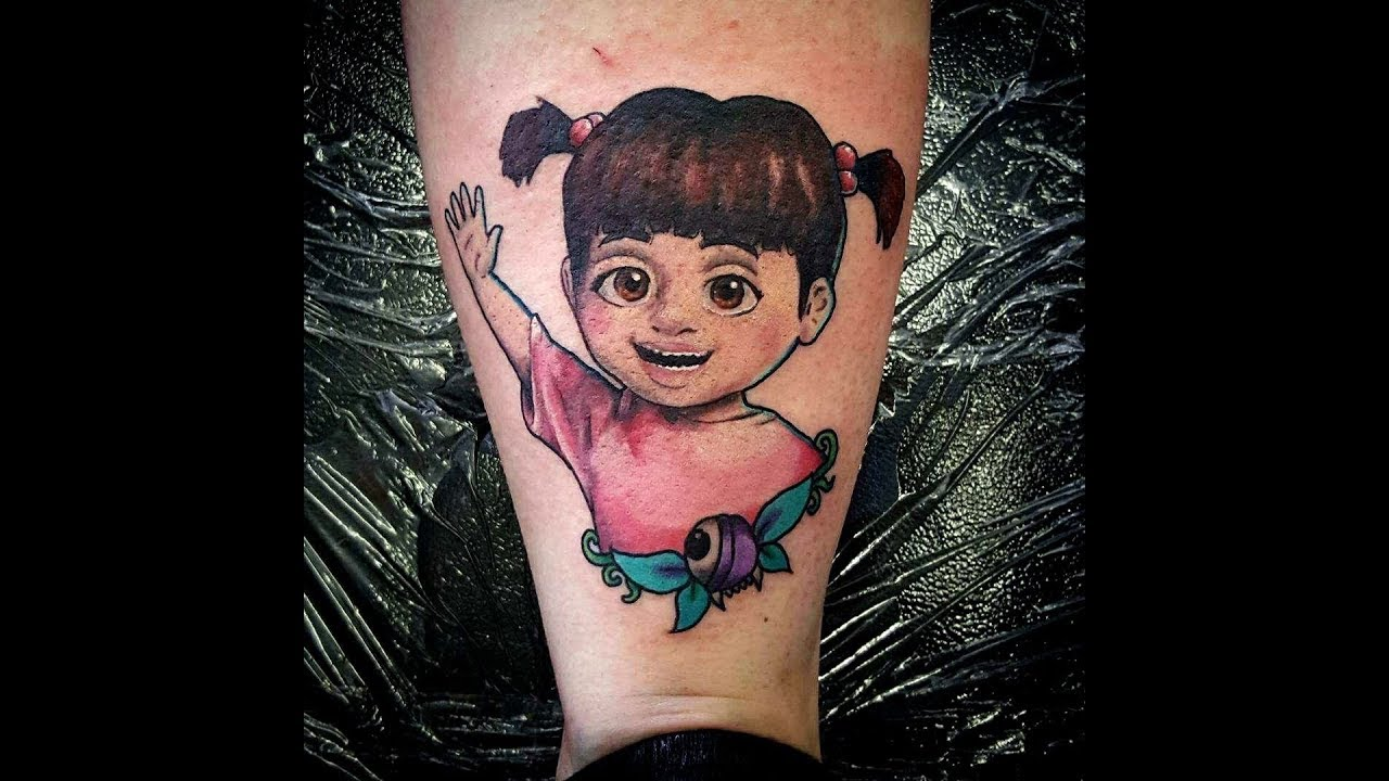 MY DISNEY MONSTERS INC TATTOO! (Pain, price, meaning and more) - YouTube