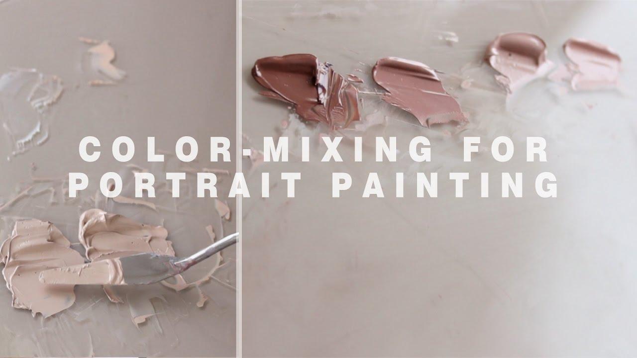 Oil Paint Portrait Colors