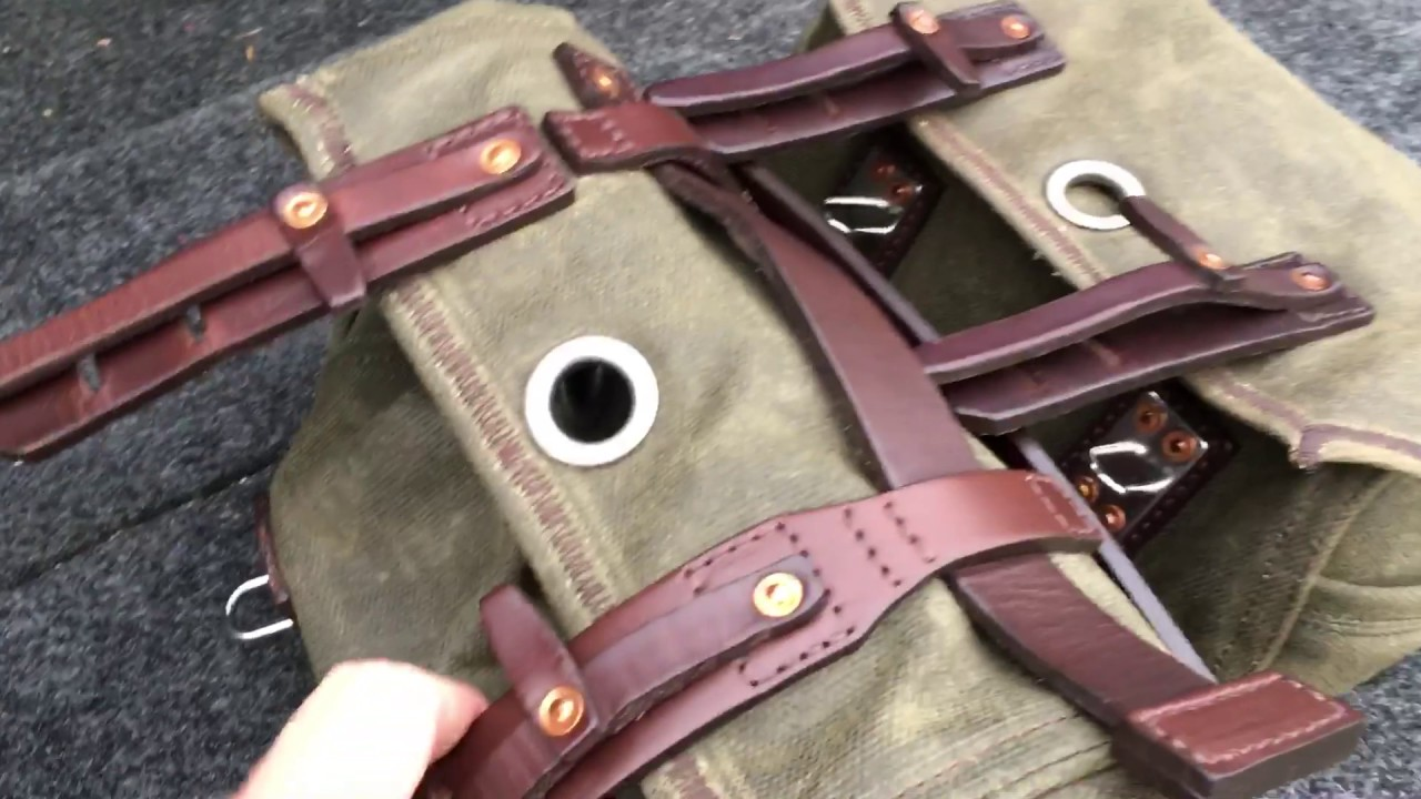c6df98fe5f Saddleback Leather Mountainback Dopp Kit vs Tool Bag - YouTube