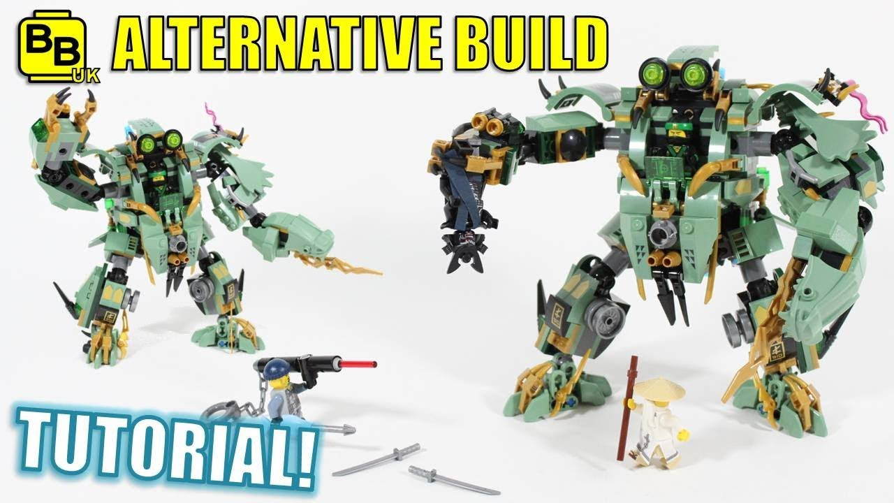 Lego Ninjago Movie 70612 Alternative Build Lloyd S Battle