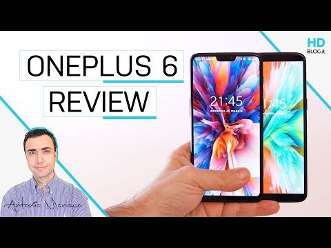 OnePlus 6: RECENSIONE e CONFRONTO con OnePlus 5T