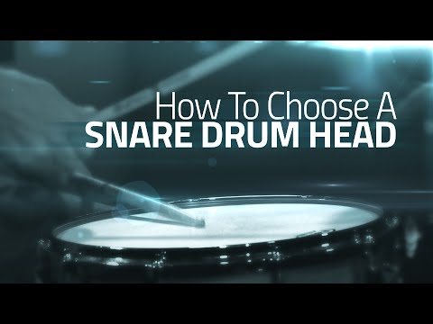 How To Choose A Snare Drum Head - Drumeo