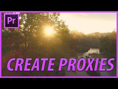 How to Create Proxies on Imported Footage in Adobe Premiere Pro CC thumbnail