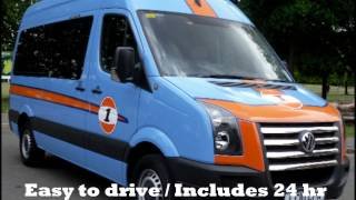 Copy Of Uk Music Tour Bus Hire, Splitter Van Hire, Band Van Europe