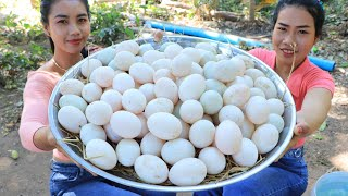 How to cook egg curry with rice recipe in my village - Amazing cooking