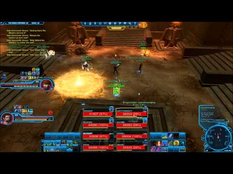 SWTOR Dread Fortress - Outbreak - Draxus Nightmare mode 8 man