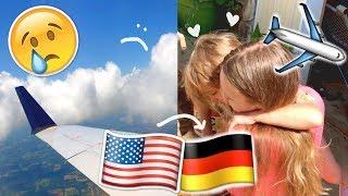 ABSCHIED & RÜCKFLUG 💔 FAMILIE NACH 10 MONATEN WIEDER SEHEN