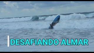 ASI DESAFIAN AL FURIOSO MAR estos pescadores