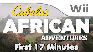 Cabelas African Adventures - First 17 Minutes