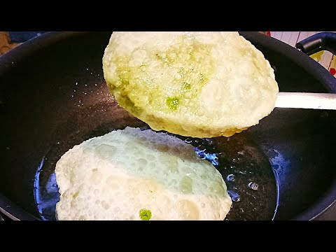हरा मटर की कचौरी | Hare Matar Ki Puri । Green Peas Puri | Matar Kachori in Hindi