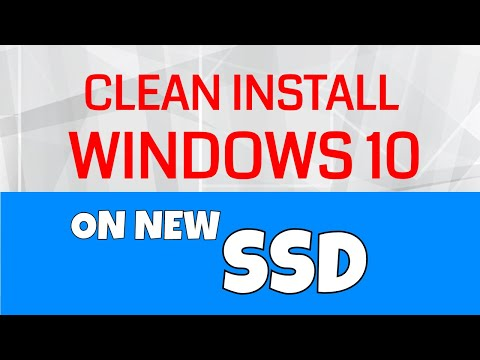 Clean Install Windows 10 on new SSD with May 2019 Update Version 1903