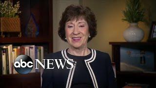 Sen. Susan Collins: Corker-Trump Twitter feud not very productive