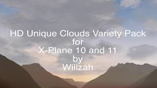 Download HD Unique Clouds Variety Pack for X-Plane 11