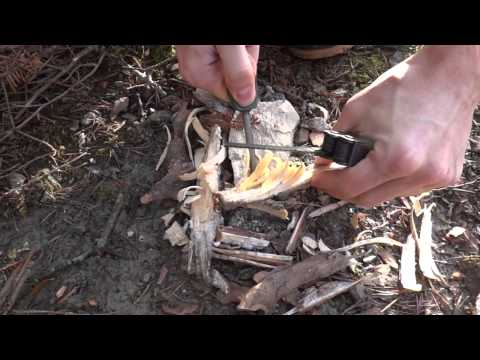 Nature Minimaliste #8 - 3 hommes pour un feu