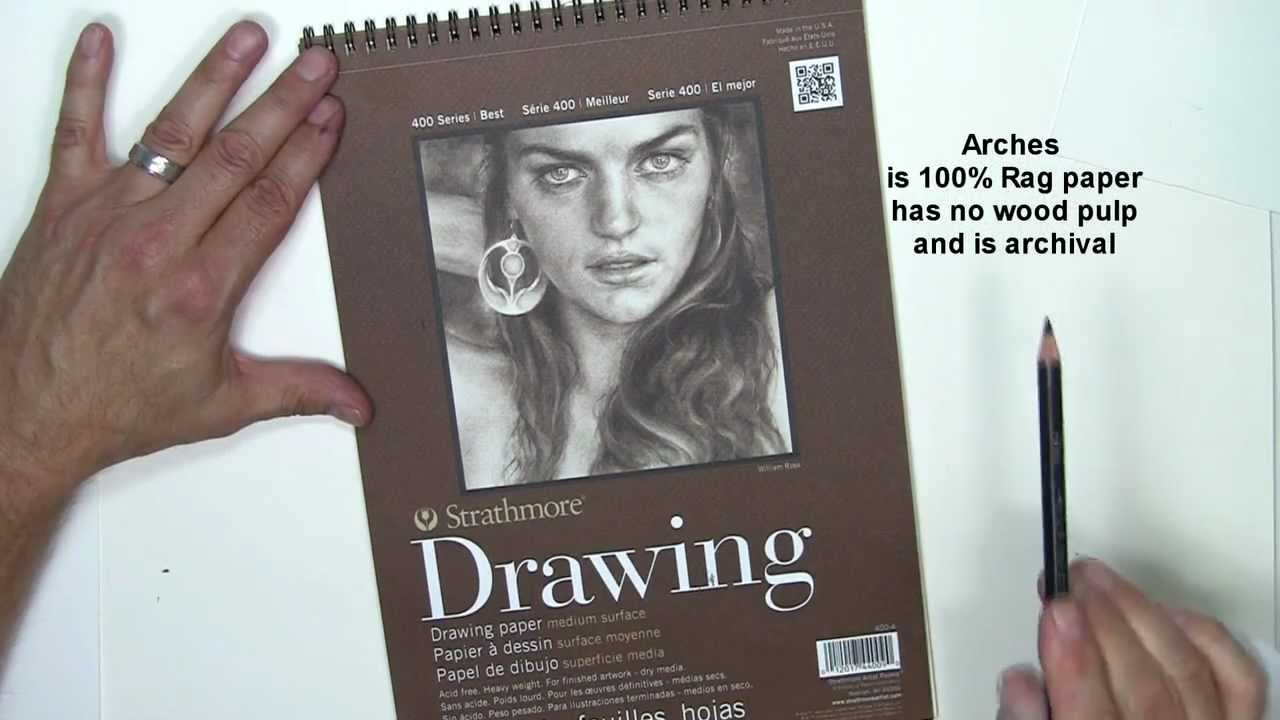 Drawing paper recommended for realistic pencil drawing youtube