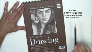 Drawing Paper Recommended for Realistic Pencil Drawing thumbnail