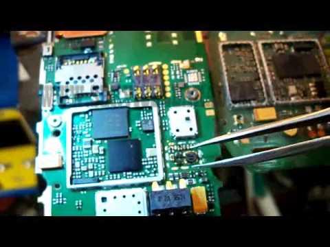 reparacion NOKIA C2-02 SIN LUZ EN DISPLAY