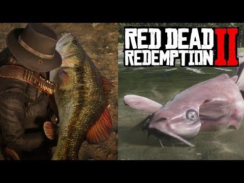 Ловись, рыбка, большая и маленькая! Тайна легендарного сома разгадана в Red Dead Redemption 2!