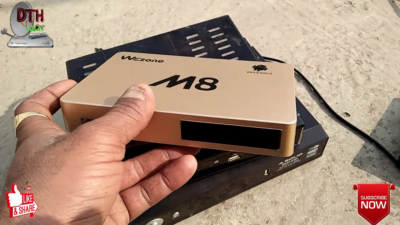 Which is the best set-top box in India 2019?  Solid 6303-6141-M8