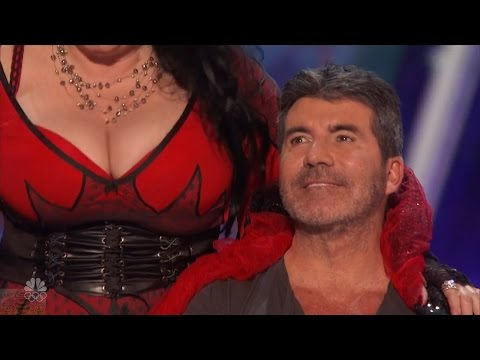 America's Got Talent 2016 Miranda Cunha More Than a Dance For Simon Cowell Full Audition Clip S11E03