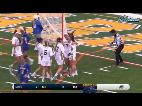 HIGHLIGHTS: Women's Lacrosse vs. New Haven (3-24-18)
