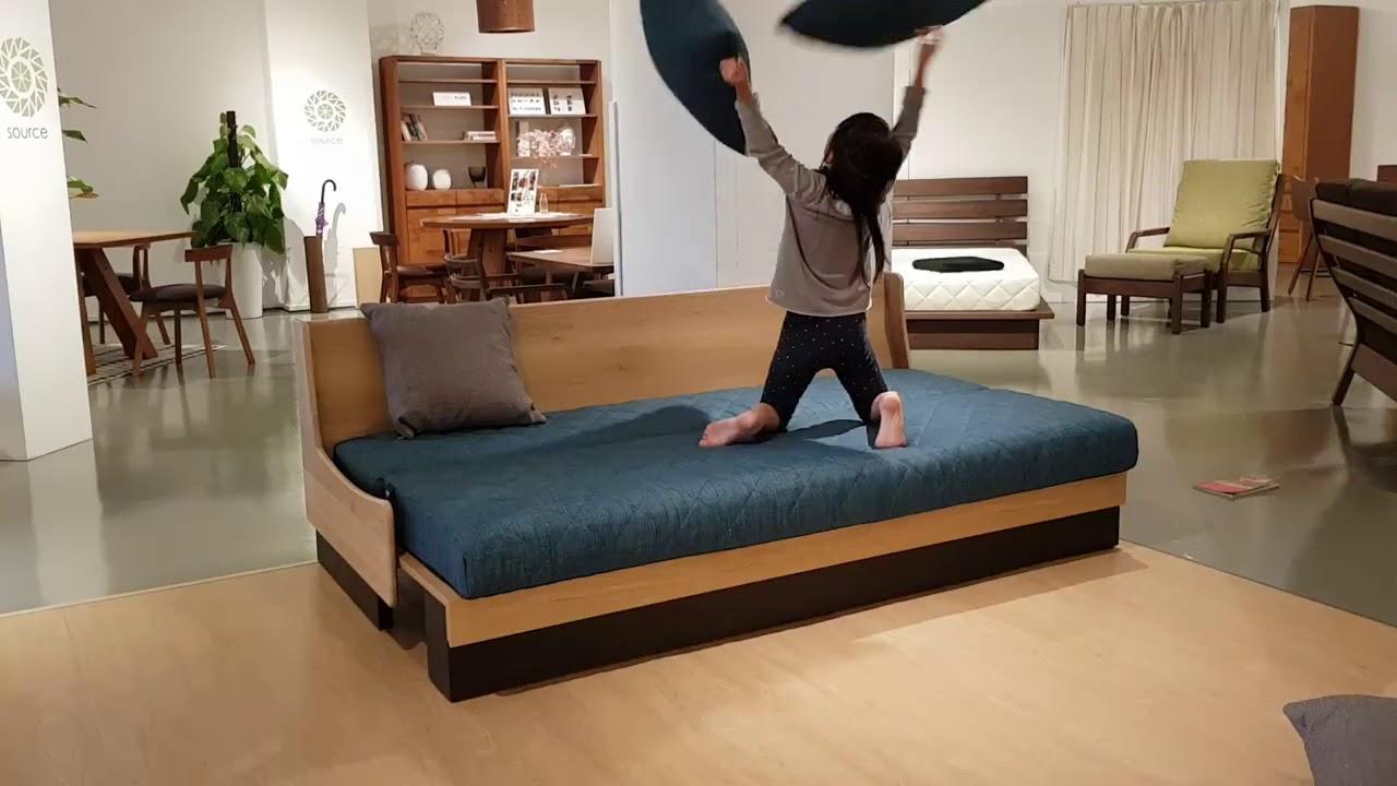Dorothy sofa bed, Japan
