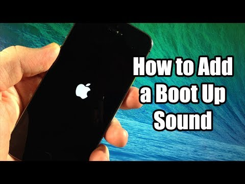 How to Add a Boot Up Sound for FREE - iPhone, iPod, iPad