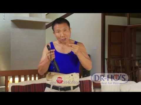 DR-HO'S 2-in-1 Back Relief Belt: Introduction