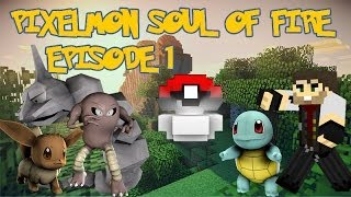 PIXELMON ADVENTURE MAP - SOUL OF FIRE Ep.1 - THE BEGGINING