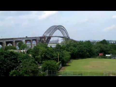 """Bayonne Bridge """"Raise the Roadway"""" Time-Lapse"""