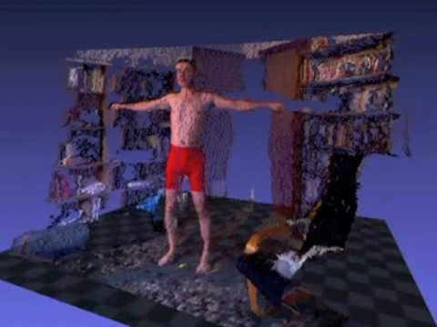 Home 3D Body Scanning using the Kinect