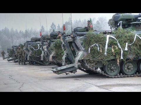 German Panzergrenadier Entering Lithuania